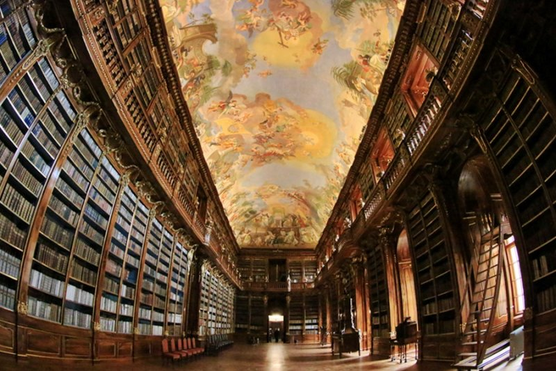 Strahov Library - Theological Hall, Philosophical Hall (Strahovská knihovna)