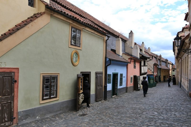 Golden Lane in Prague Castle (Zlata Ulicka)