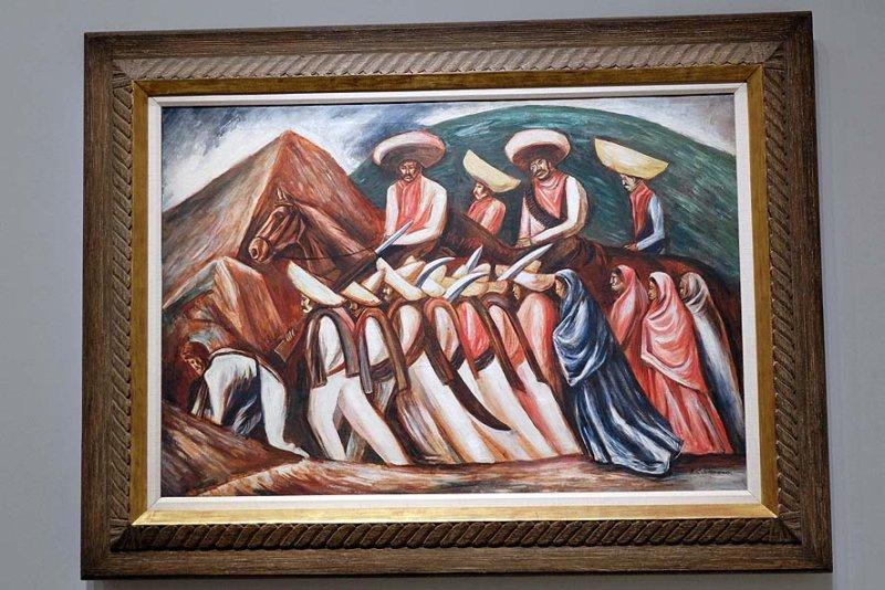 José Clemente Orozco - Défilé zapatiste (1930) - 8600