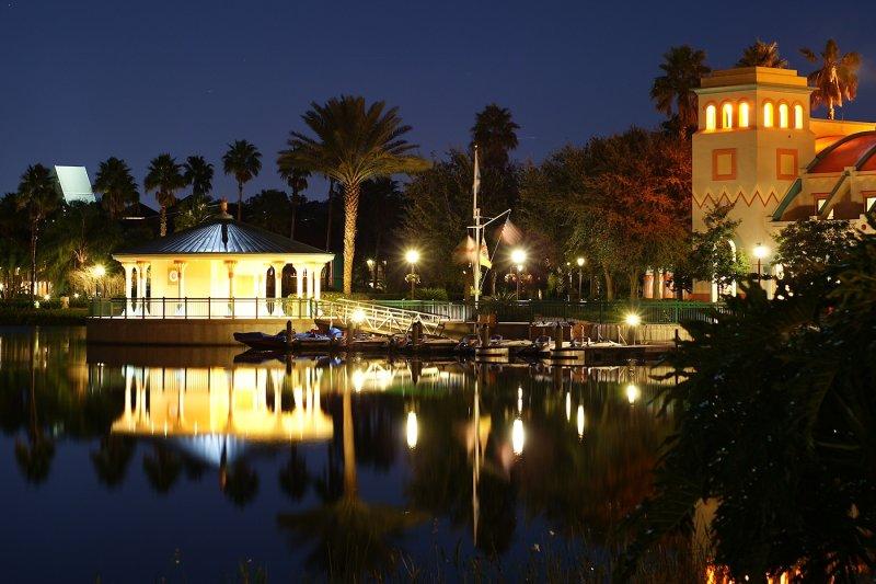 Coronado Springs on a crisp night