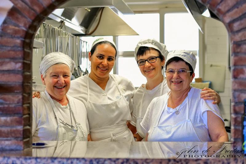 2017 - Chefs at Ristorante da Ugo - Castagnete Carducci, Tuscany - Italy