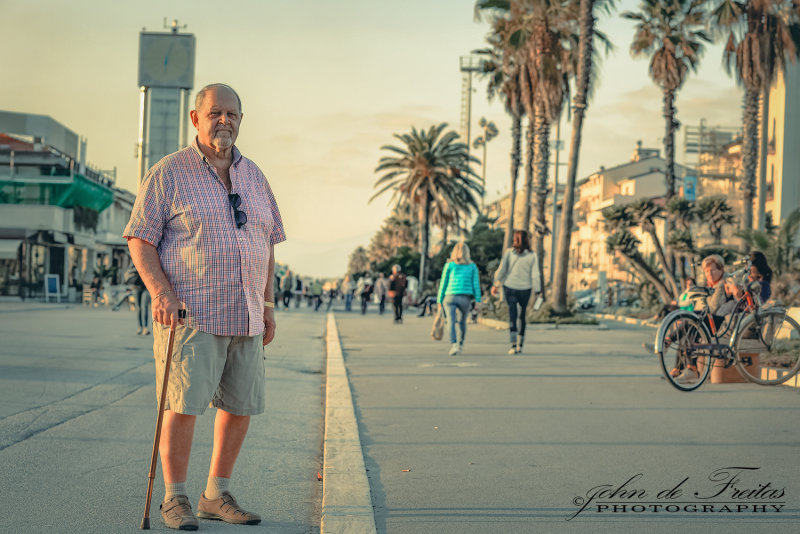2017 - Ken at Viareggio broadwalk, Tuscany - Italy