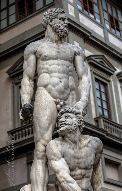 2017 - Hercules and Cacus, Piazza dela Signoria - Florence, Tuscany - Ital