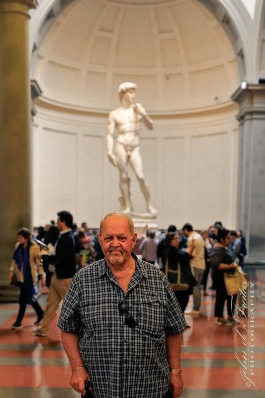 2017 - Ken at Galleria dellAccademia di Firenze, Tuscany - Italy