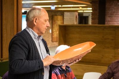 Morten Tønnesen forteller om støperformen han brukte for å støpe skroget til Per Hennings Killing-modell