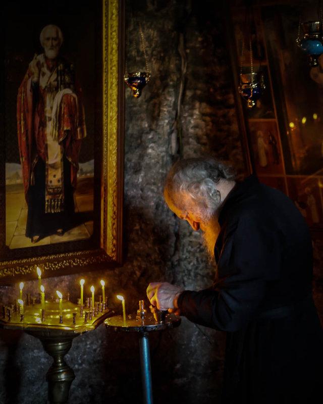 The Priest of Orheii Vechi, Moldova