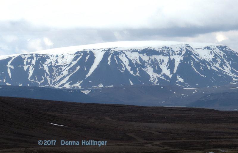 Glacier in Northern Iceland