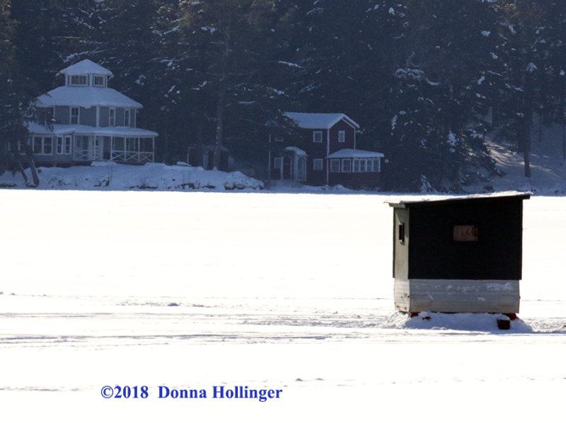 Lake Fairlee Ice Fishing House
