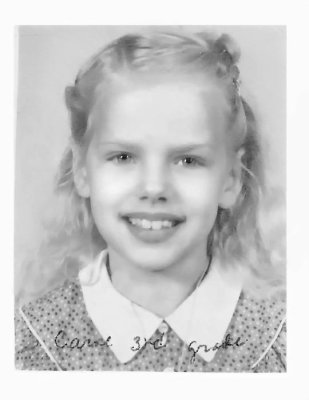My Favorite Girl, 3rd grade picture!