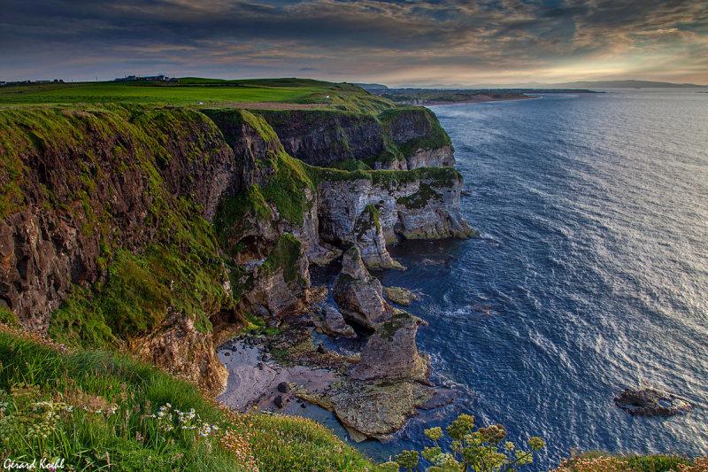 Sur la cote Irlandaise