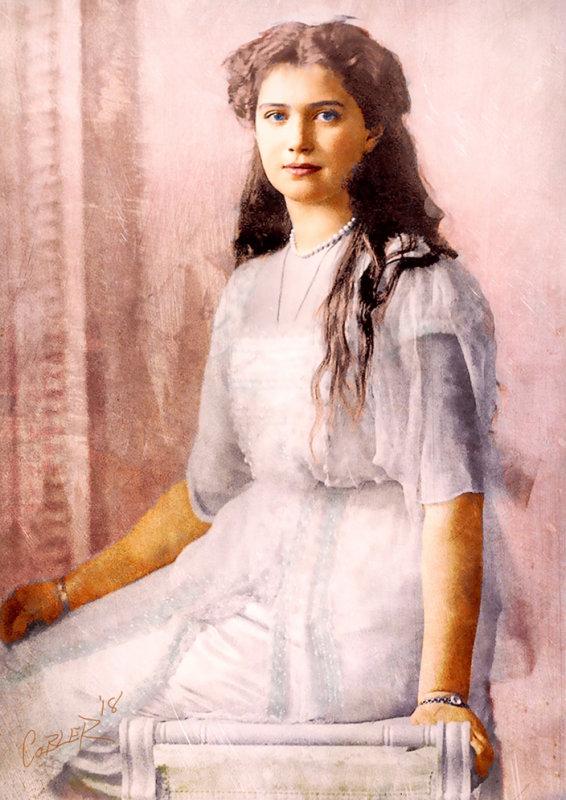 Grand Duchess Maria Nikolaevna Romanova