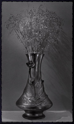 Art nouveau Chinese vase