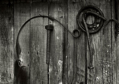 Rusted implements