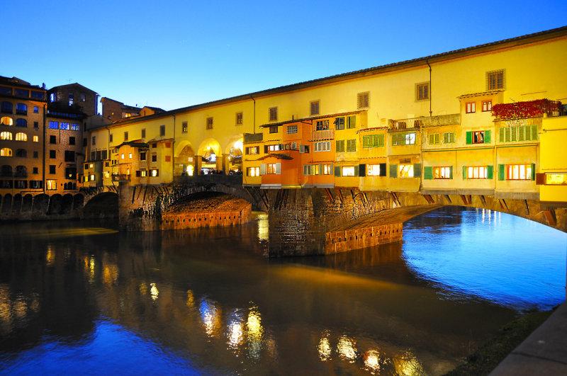 Goldsmith Bridge in Florence