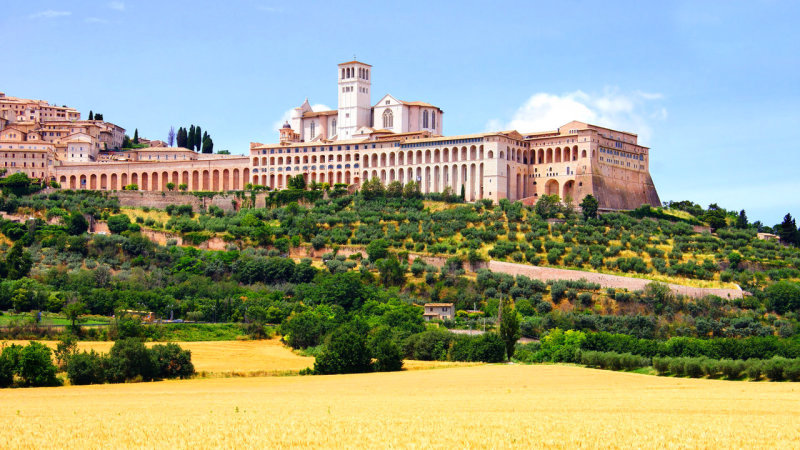 St.Francisco Monastery in Assisi