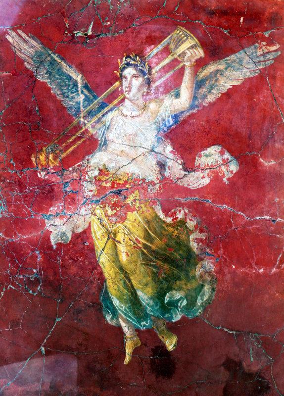 Pompeii in Frescoes