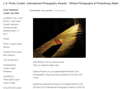 L.A. Photo Curator - What Remains