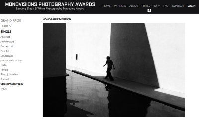 MonoVisions Photography Awards, Honorable Mention