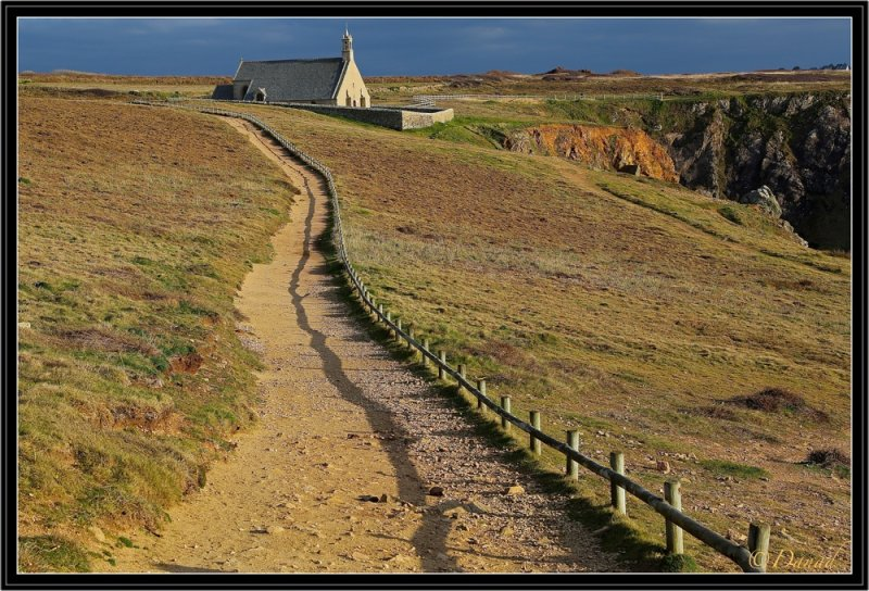 The Path to the little chapel.