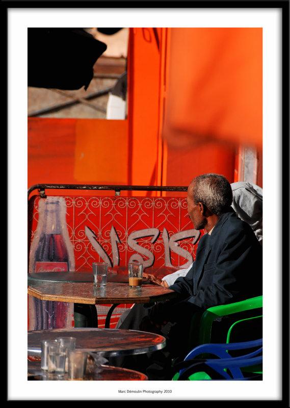 Coffee, Meknes, Morocco 2010