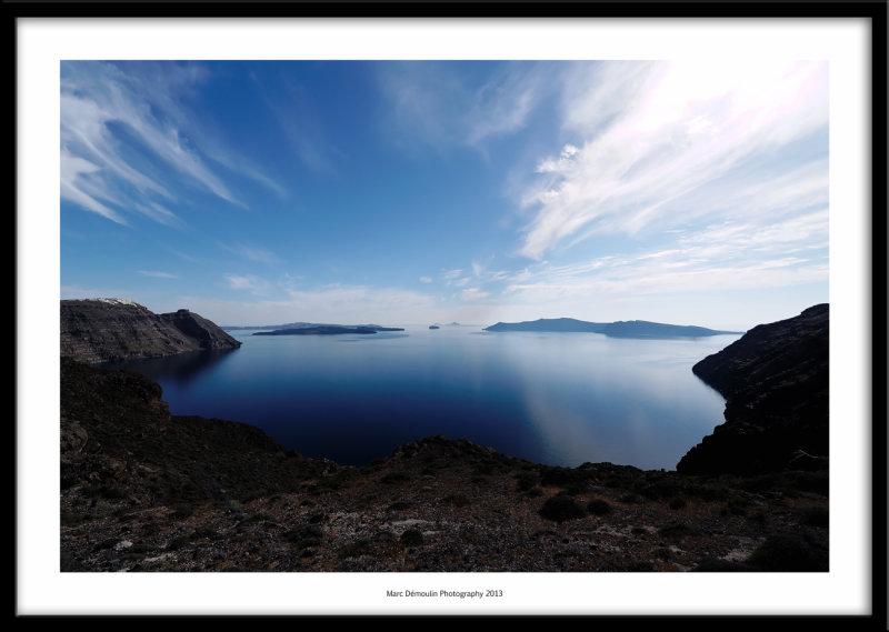 Caldera, Santorini, Greece 2013