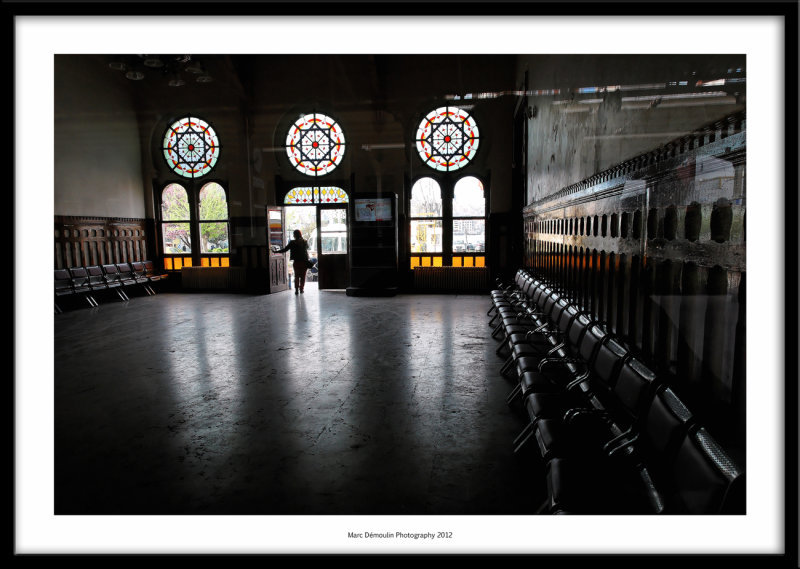 Railway station, Istanbul, Turkey 2012