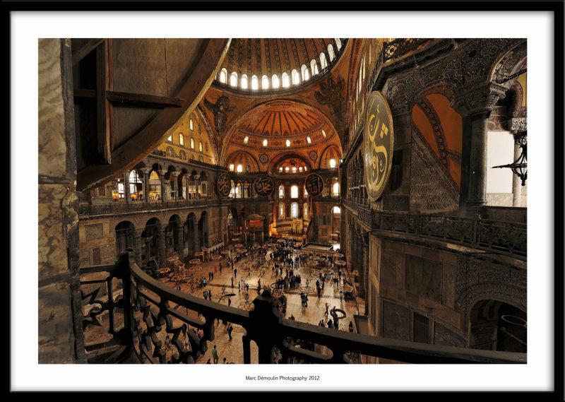 Hagia Sofia, Istanbul, Turkey 2012