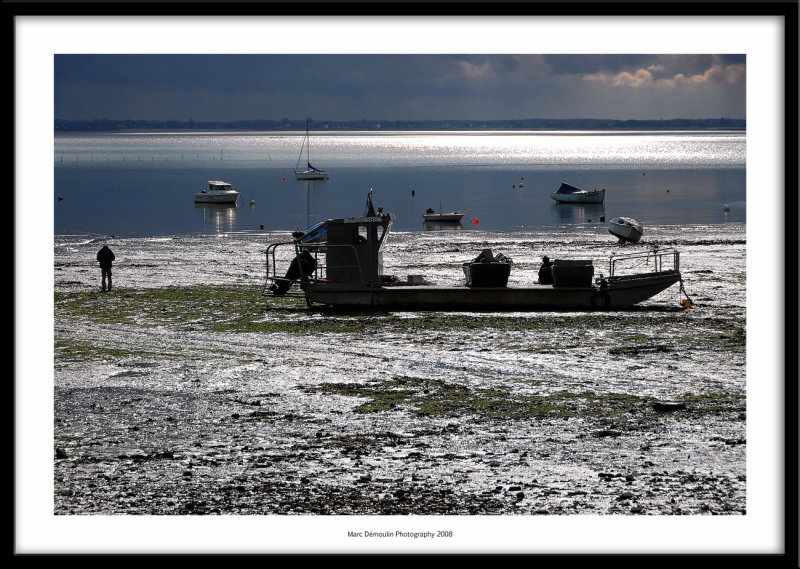 Oyster boat, Cancale, France 2008