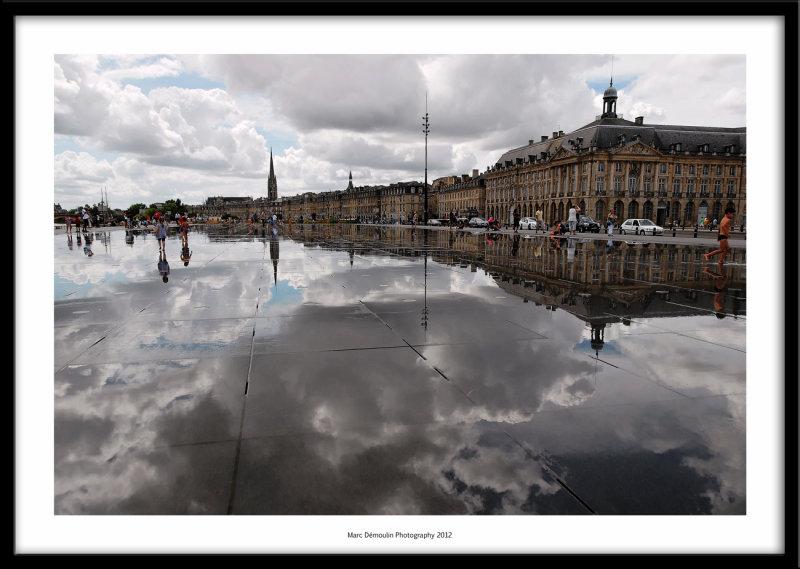 Water mirror, Bordeaux, France 2012
