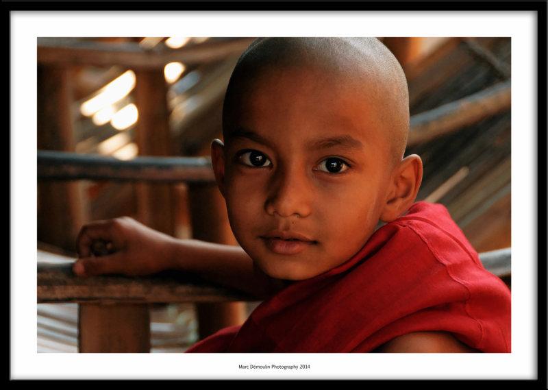 Young monk, Mandalay, Myanmar 2014