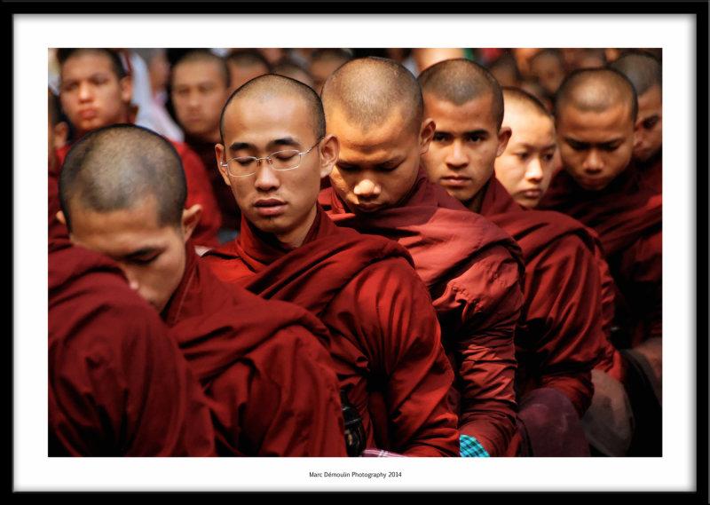 Young monks, Mandalay, Burma 2014