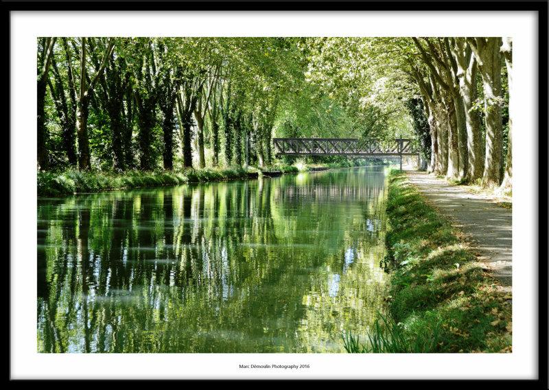 Canal de Garonne, Pont-des-Sables, France 2016