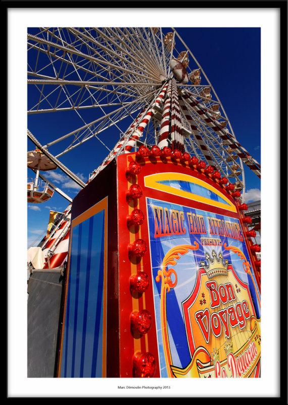 The big wheel, Honfleur, France 2013