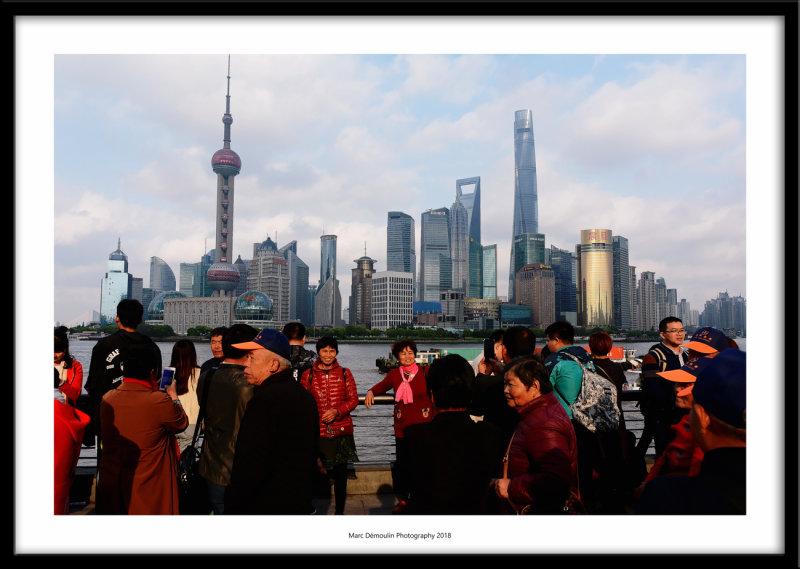 Pudong skyline, Shanghai, China 2018