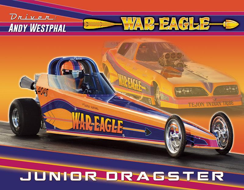 Andy Westphal Jr. Dragster 2017