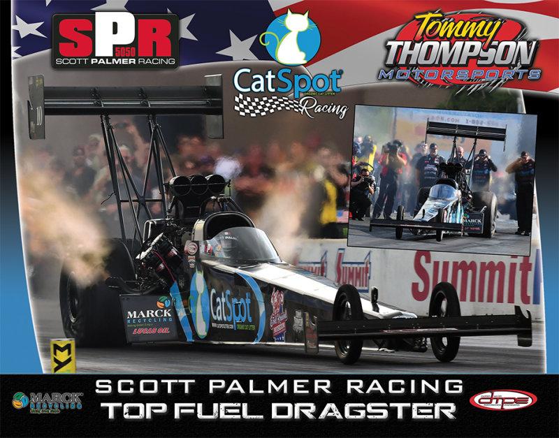 Scott Palmer Top Fuel 2018