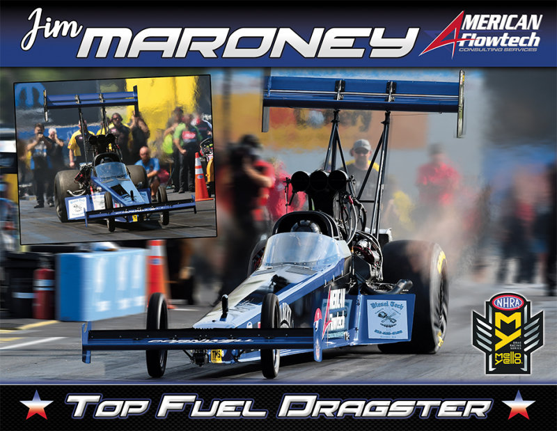 Jim Maroney Top Fuel 2018