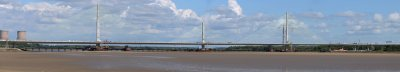 NEARING COMPLETION... THE MERSEY GATEWAY.