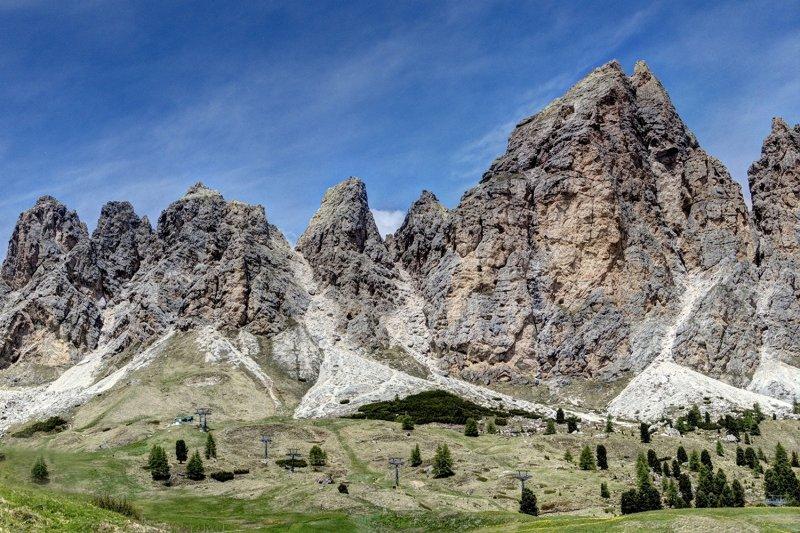Cliffs and Spires
