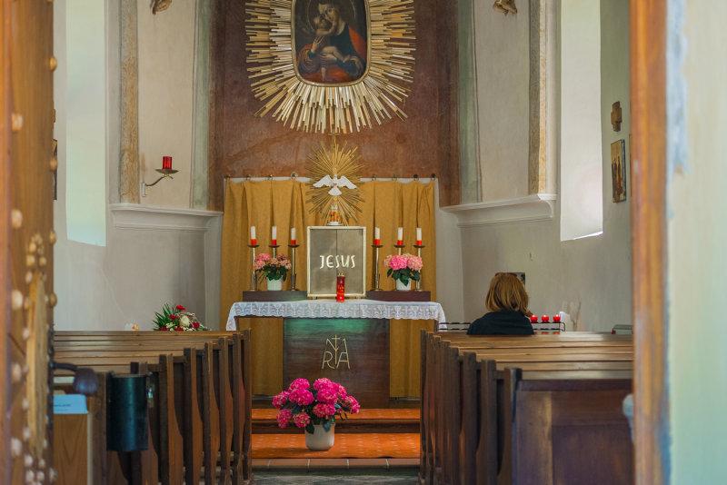 Chapel Maria Hilf Interior