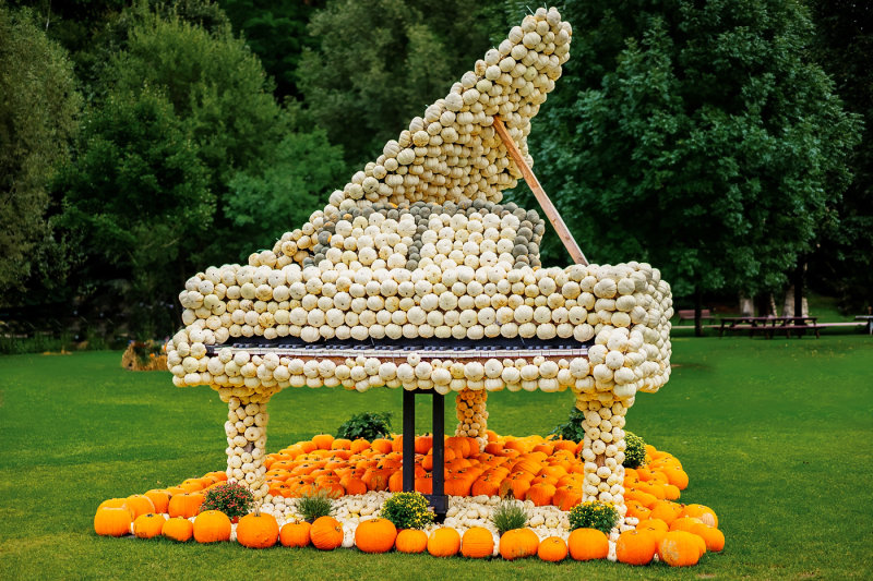 Pumpkin Grand Piano