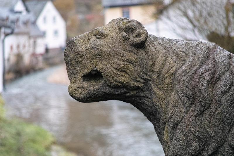Lion Statue 15th Century