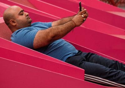 Selfie, Times Square, New York City, New York, 2016