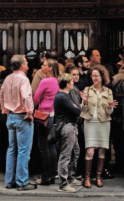 On Line, Theatre District, New York City, New York, 2016