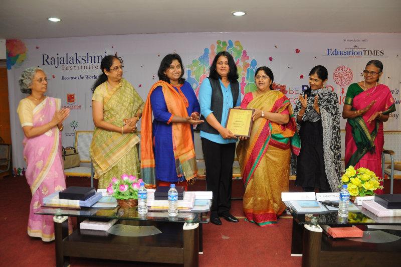 Felicitation by Rajalakshmi Engineering College,Chennai