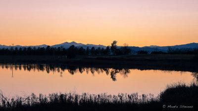 Sunset Along the Colorado Front Range