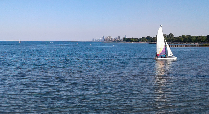Sailing a Great Lake