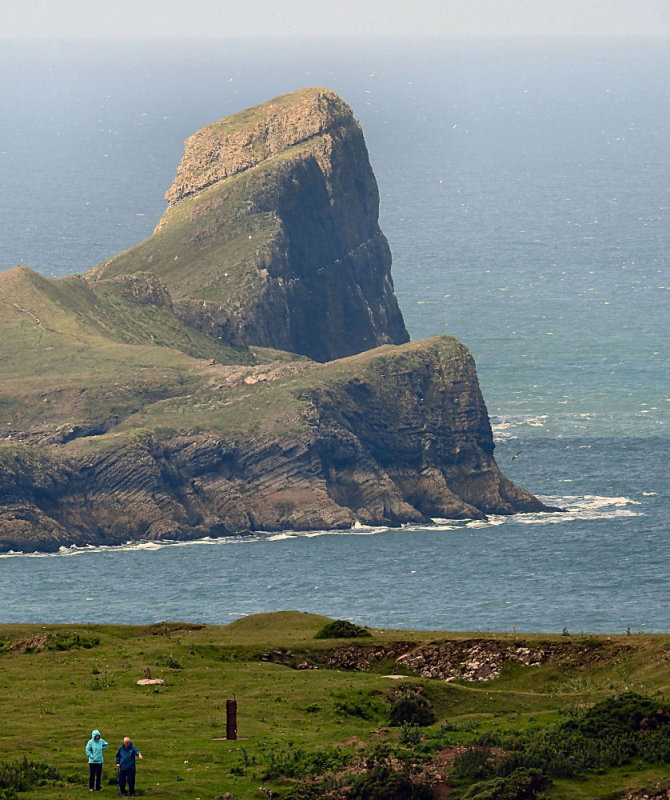 The Worms Head.