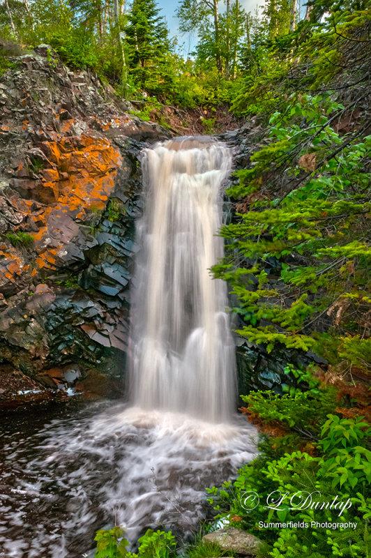 *** 135 - Grand Marais:  Fall River Lower Falls
