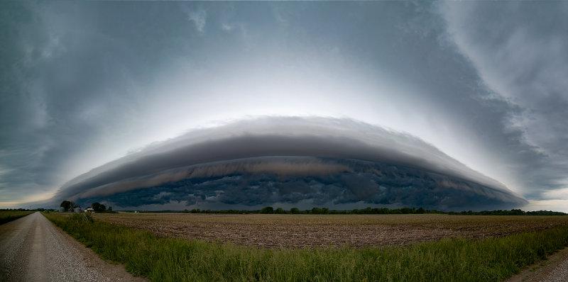 Memorial Day Shelf Cloud